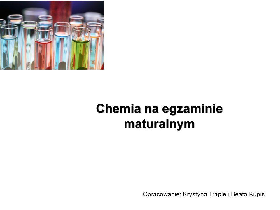 Chemia na egzaminie maturalnym