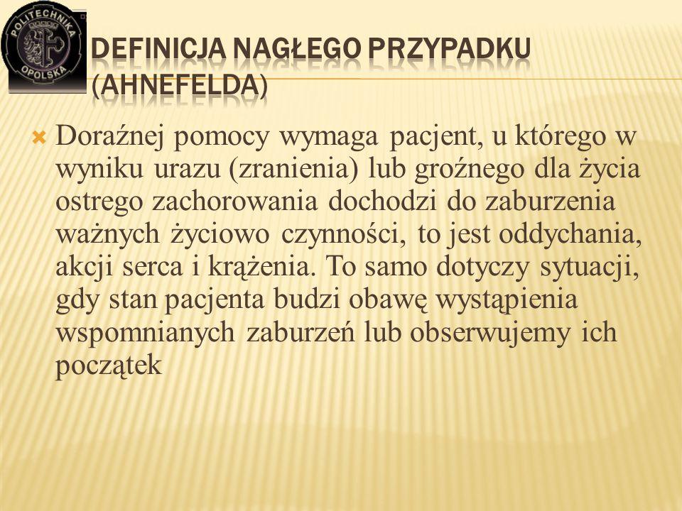 Definicja nagłego przypadku (Ahnefelda)
