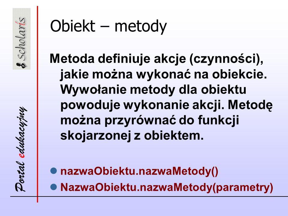 Obiekt – metody