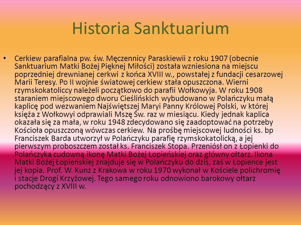 Historia Sanktuarium