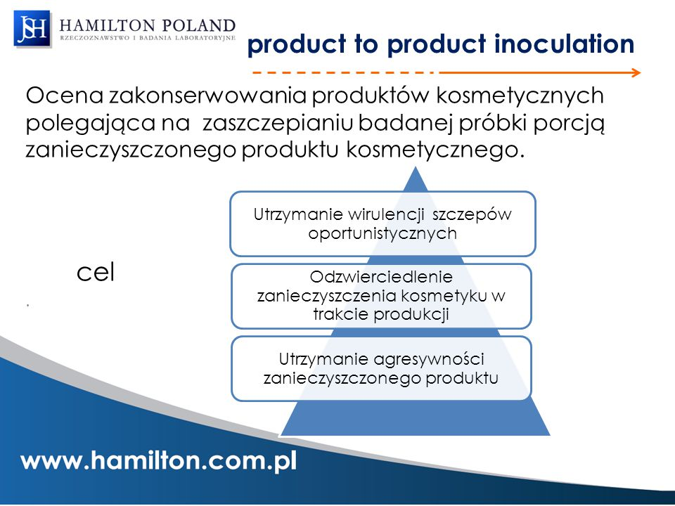 product to product inoculation