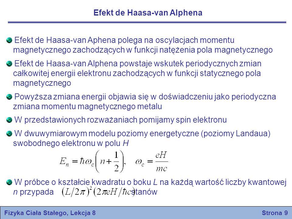 Fizyka Ciała Stałego, Lekcja 8 Strona 9