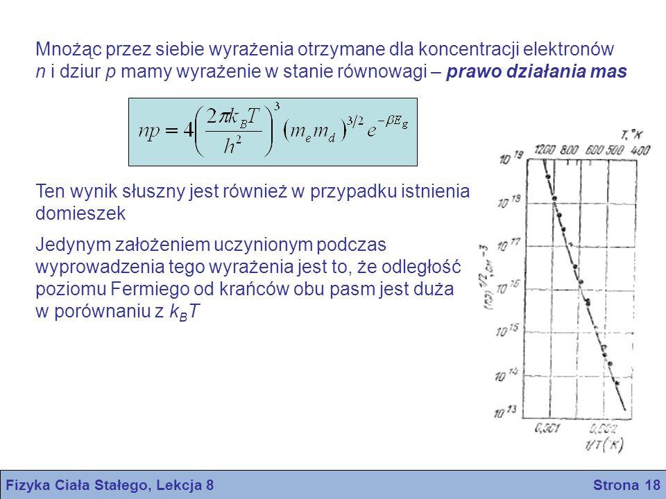 Fizyka Ciała Stałego, Lekcja 8 Strona 18