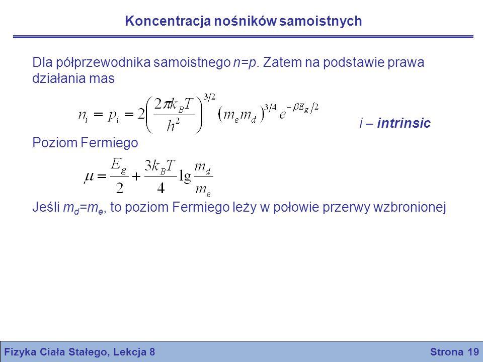 Fizyka Ciała Stałego, Lekcja 8 Strona 19