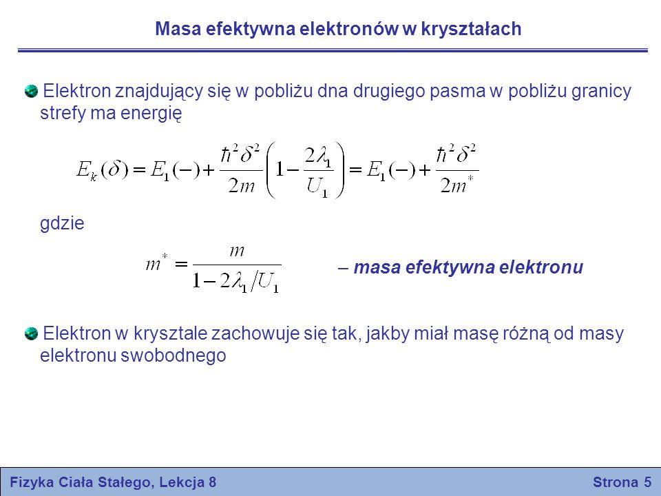 Fizyka Ciała Stałego, Lekcja 8 Strona 5