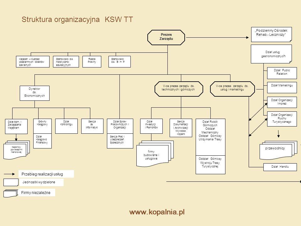 Struktura organizacyjna KSW TT