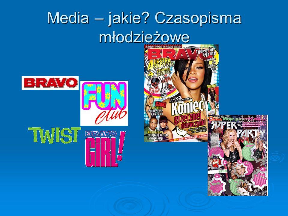 Media – jakie Czasopisma młodzieżowe