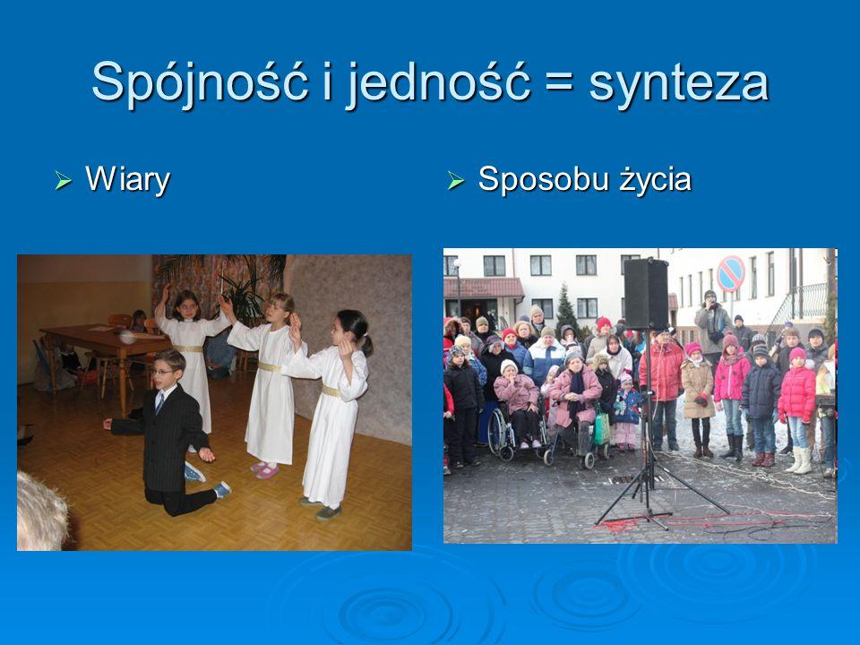 Spójność i jedność = synteza