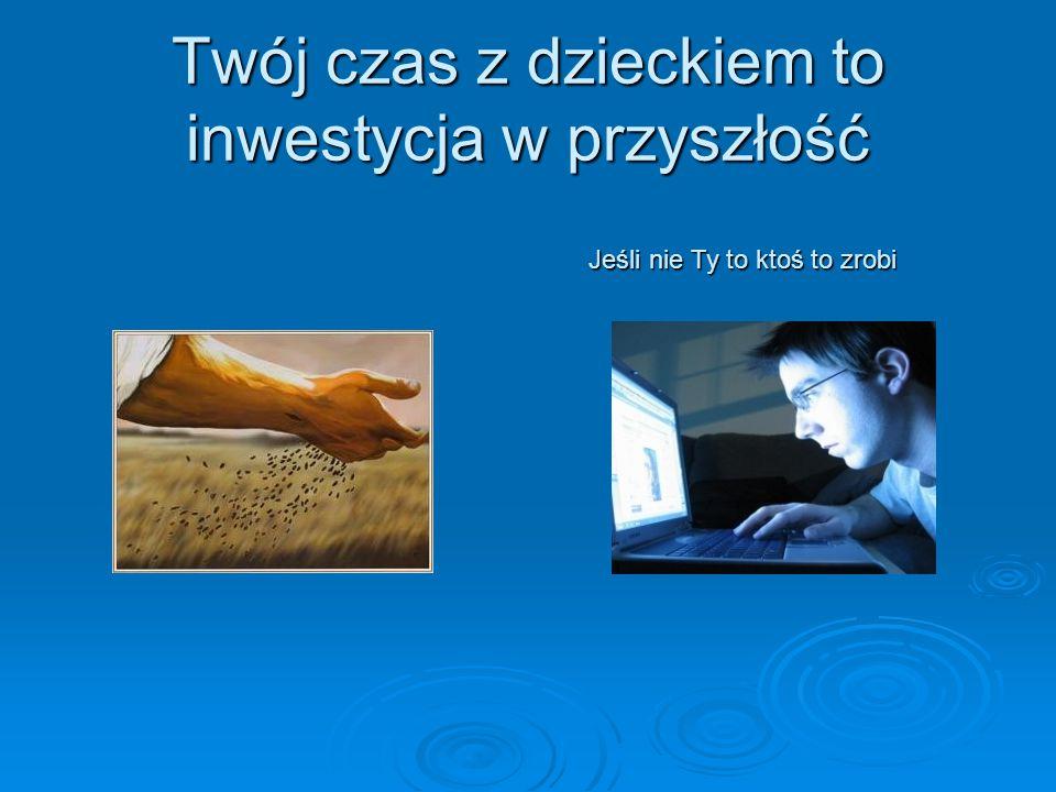 Twój czas z dzieckiem to inwestycja w przyszłość