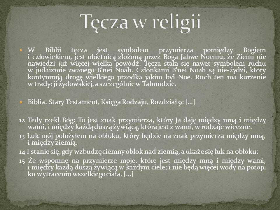 Tęcza w religii