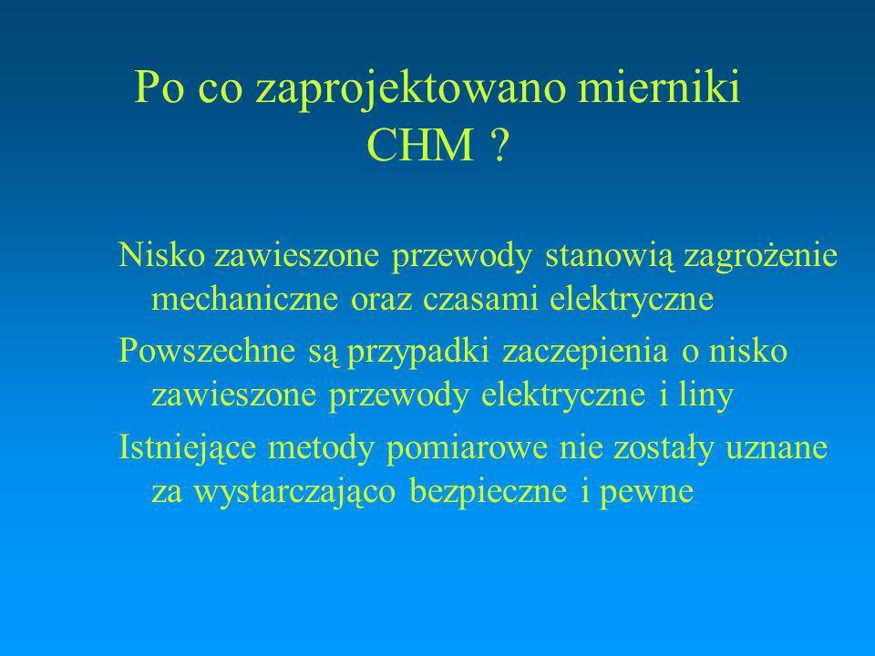 Po co zaprojektowano mierniki CHM