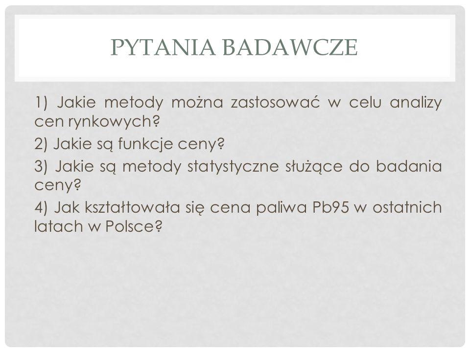 PYTANIA BADAWCZE