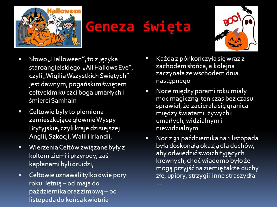 Geneza święta