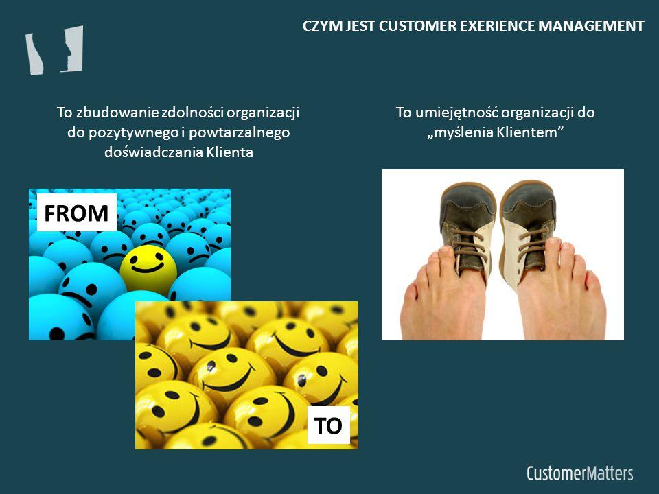 """To umiejętność organizacji do """"myślenia Klientem"""