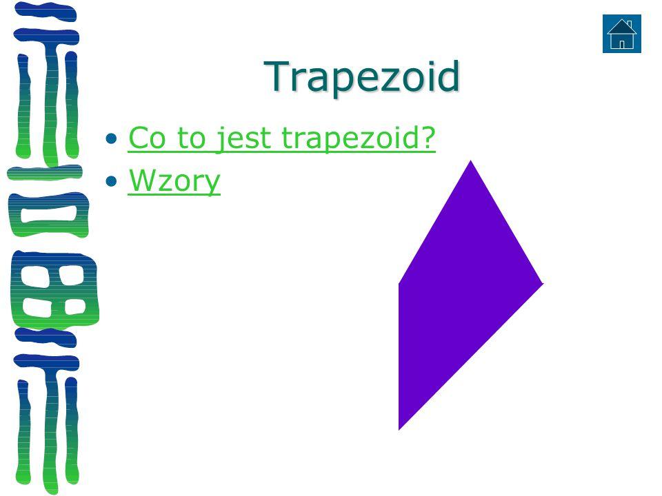 Trapezoid Co to jest trapezoid Wzory