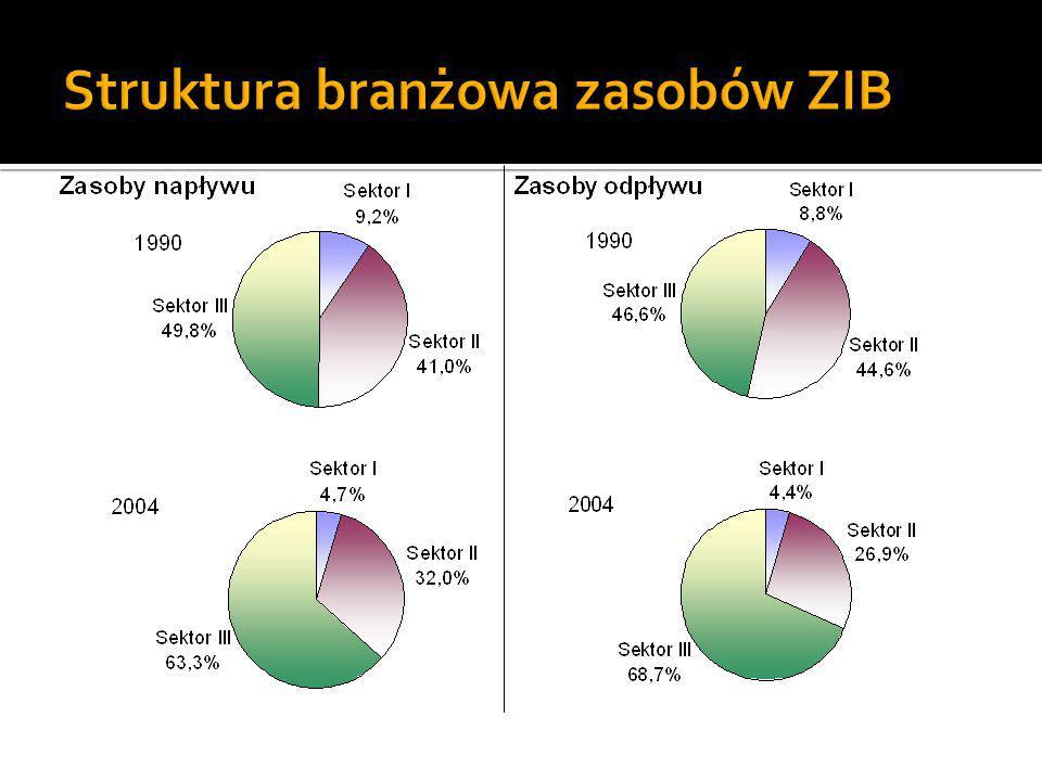 Struktura branżowa zasobów ZIB