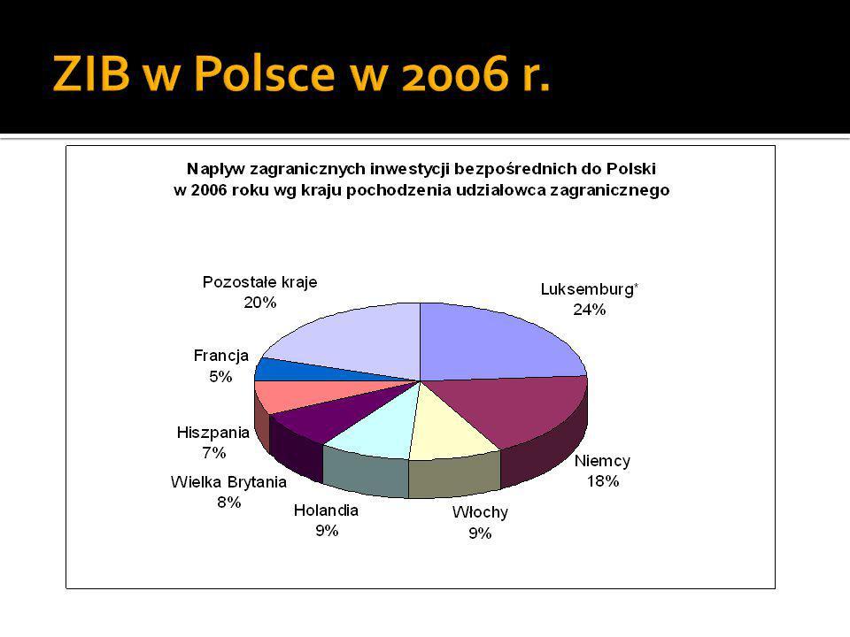 ZIB w Polsce w 2006 r.