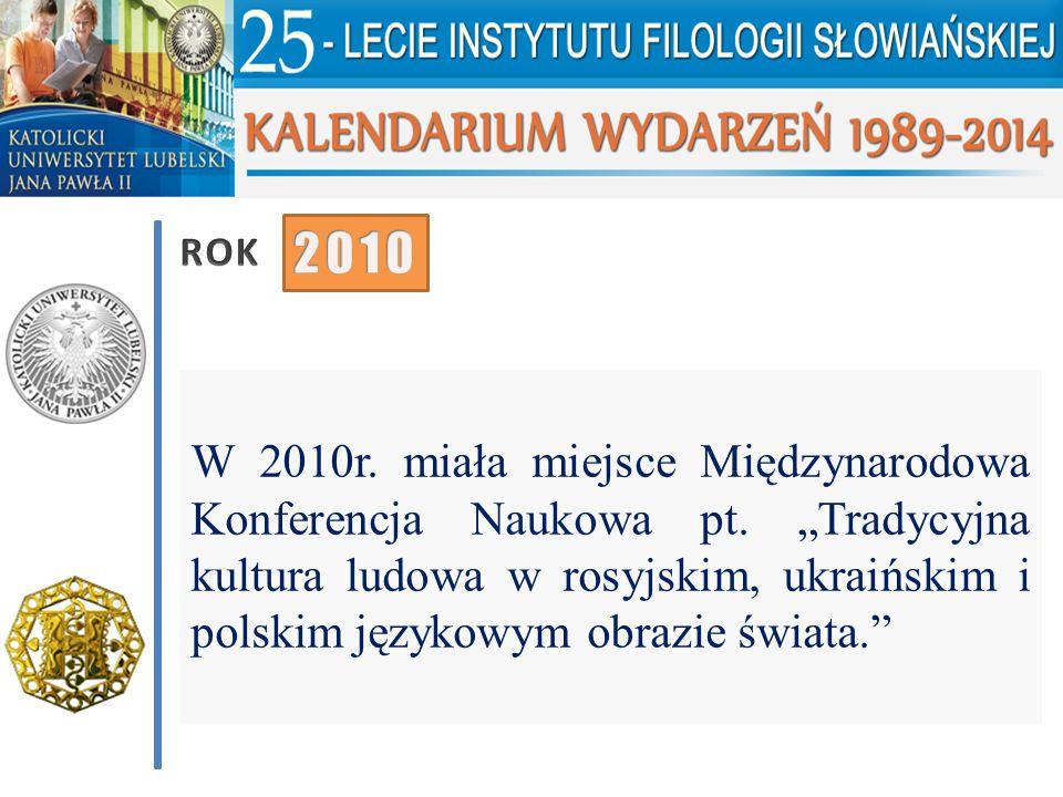 ROK 2010.