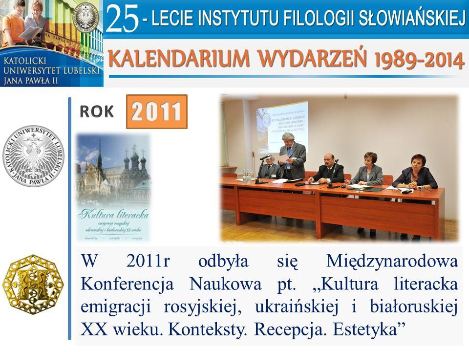 ROK 2011.