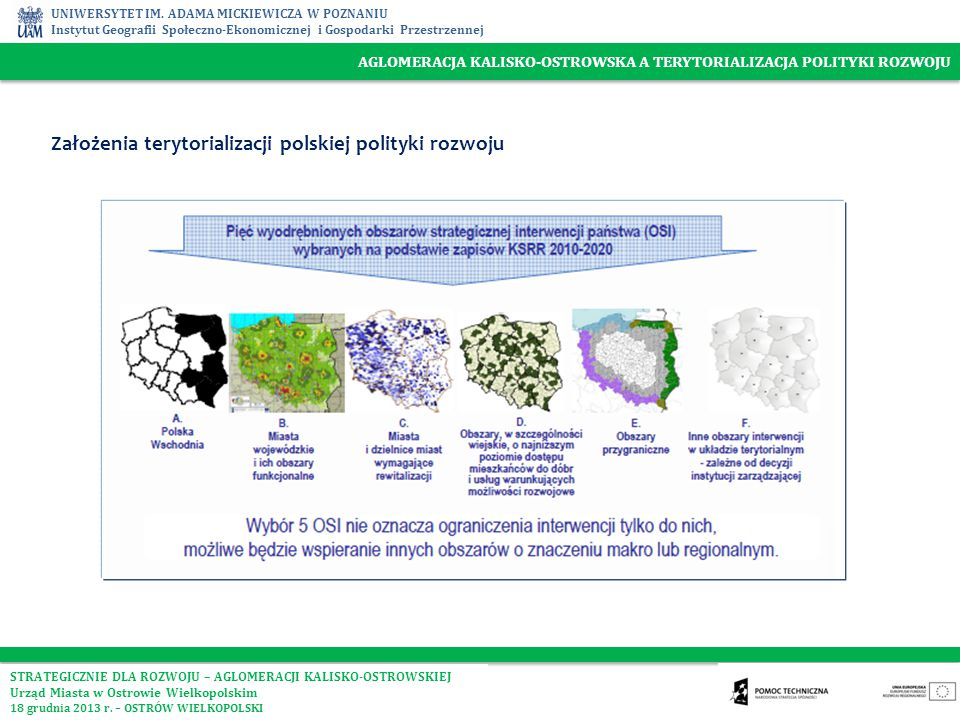 Założenia terytorializacji polskiej polityki rozwoju