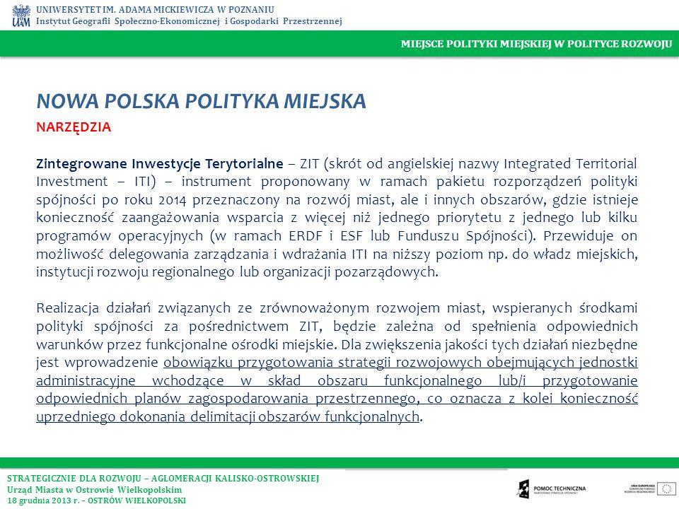 NOWA POLSKA POLITYKA MIEJSKA