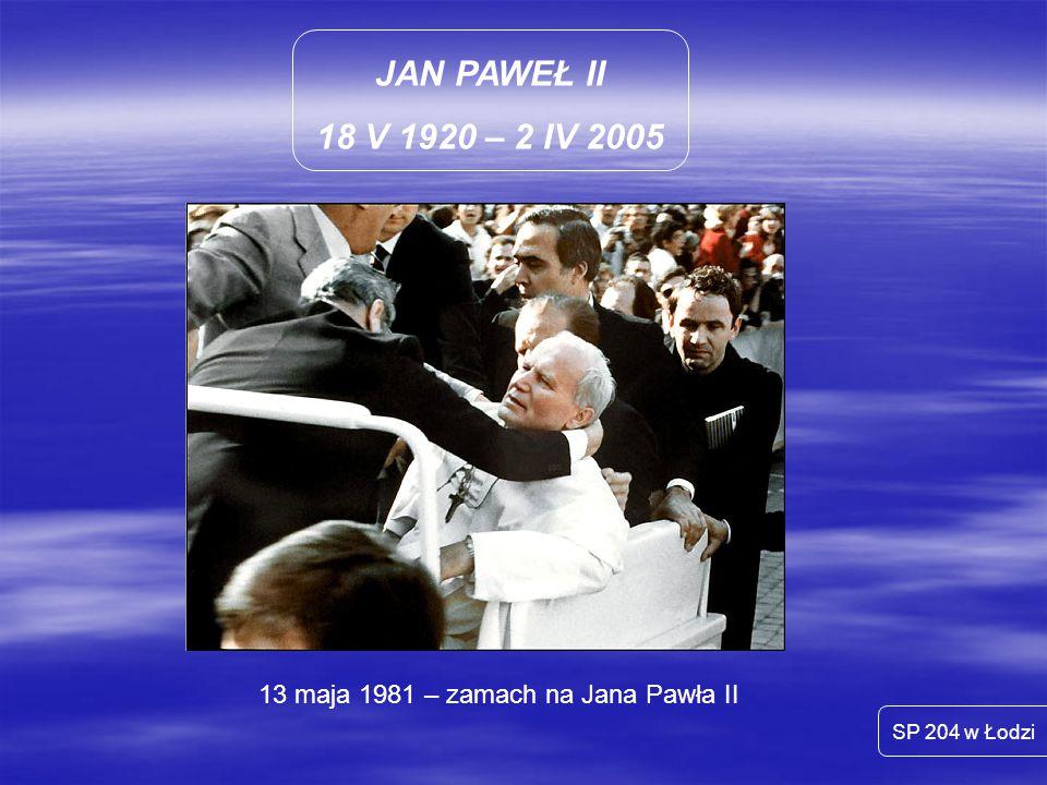 13 maja 1981 – zamach na Jana Pawła II