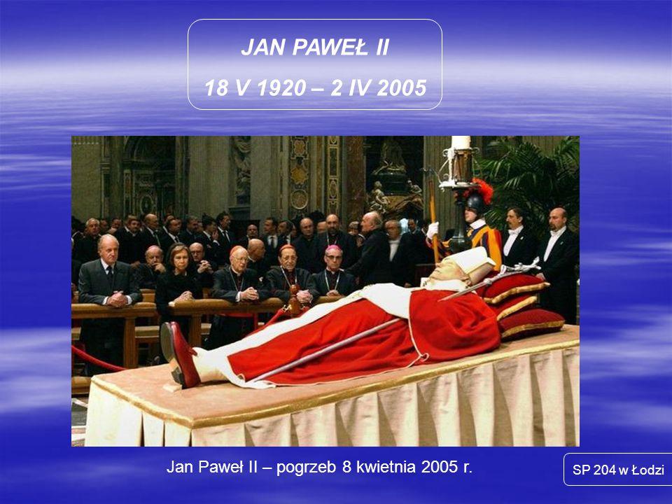 Jan Paweł II – pogrzeb 8 kwietnia 2005 r.