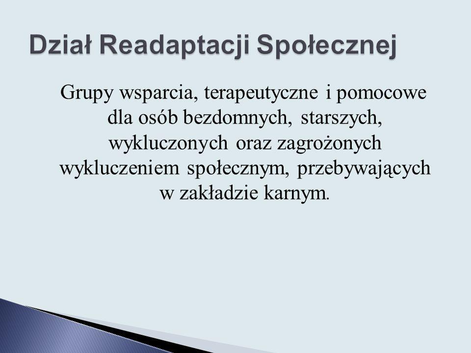 Dział Readaptacji Społecznej