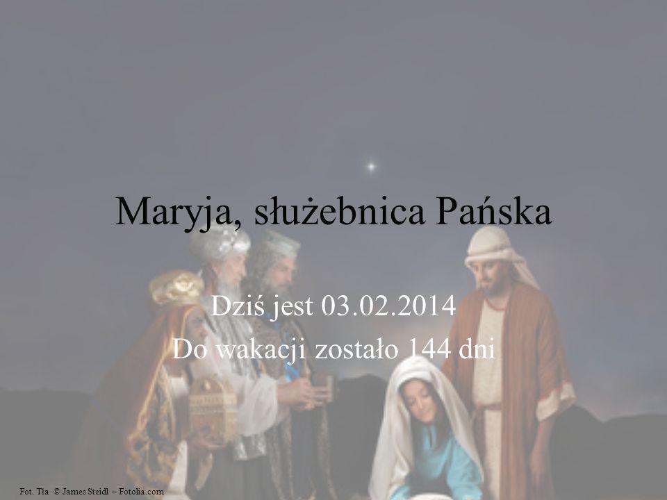 Maryja, służebnica Pańska