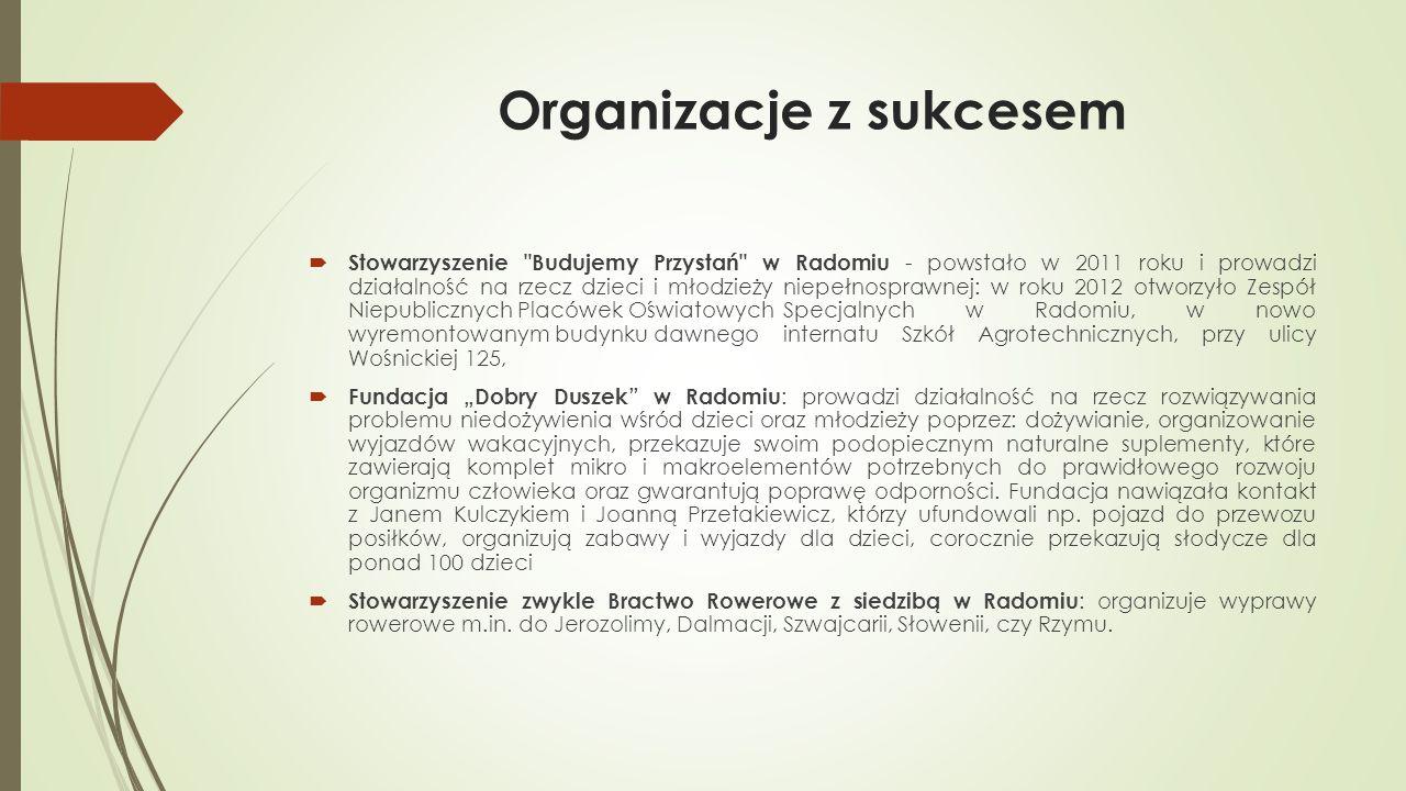 Organizacje z sukcesem