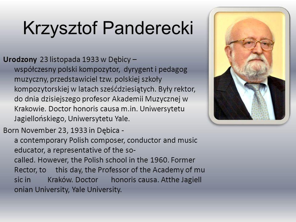 Krzysztof Panderecki