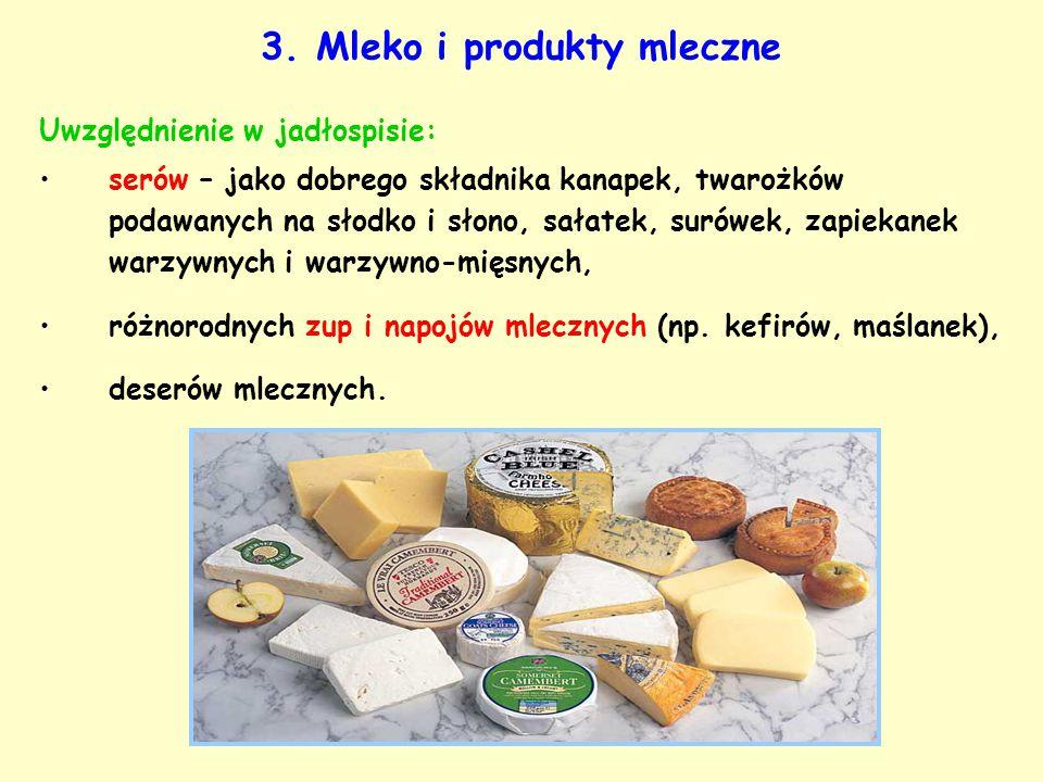 3. Mleko i produkty mleczne