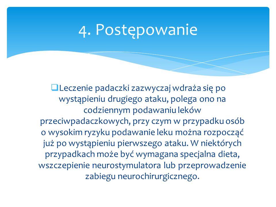 4. Postępowanie