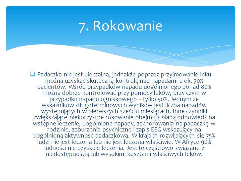 7. Rokowanie