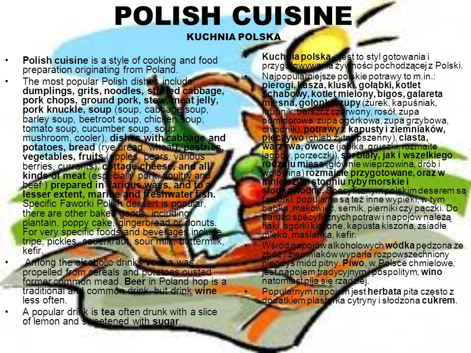 POLISH CUISINE KUCHNIA POLSKA