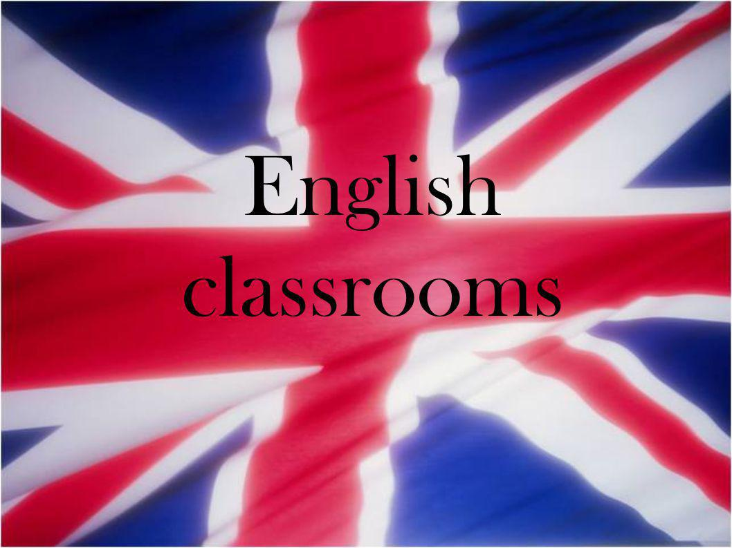 English classrooms