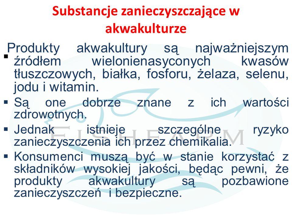 Substancje zanieczyszczające w akwakulturze