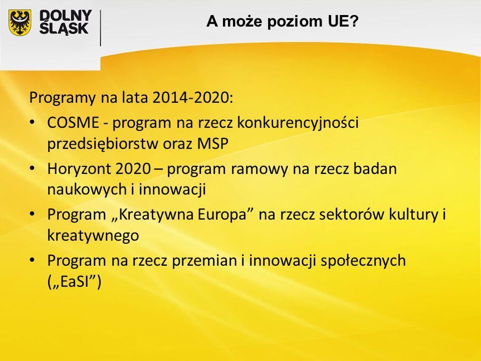 COSME - program na rzecz konkurencyjności przedsiębiorstw oraz MSP