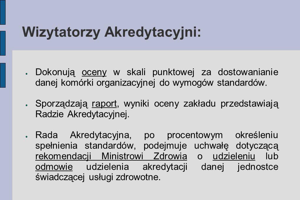 Wizytatorzy Akredytacyjni: