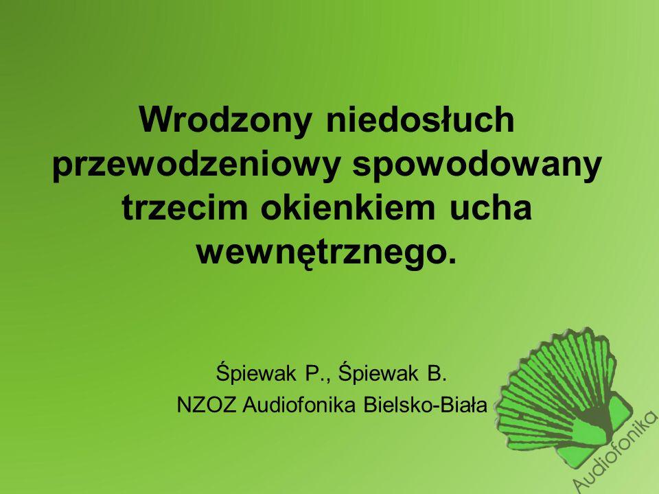 Śpiewak P., Śpiewak B. NZOZ Audiofonika Bielsko-Biała