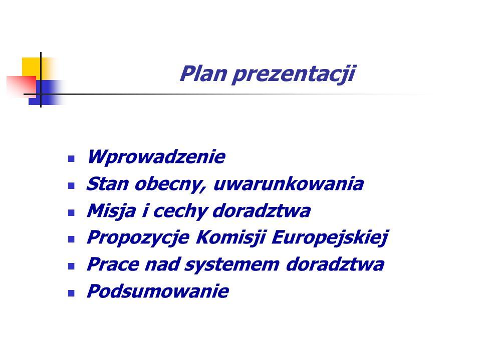 Plan prezentacji Wprowadzenie Stan obecny, uwarunkowania