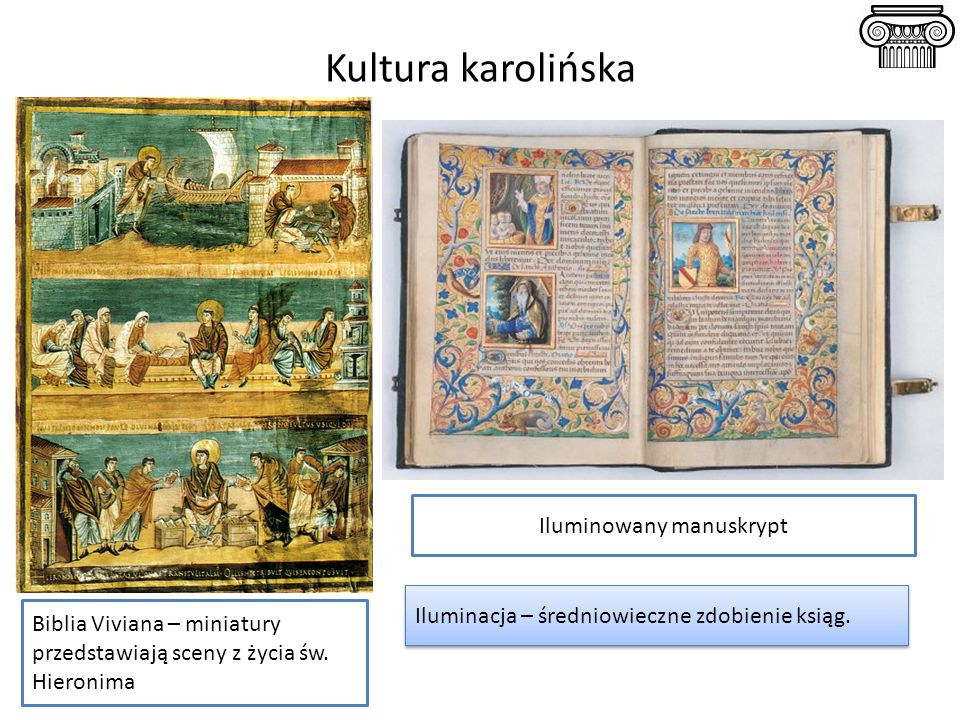 Iluminowany manuskrypt