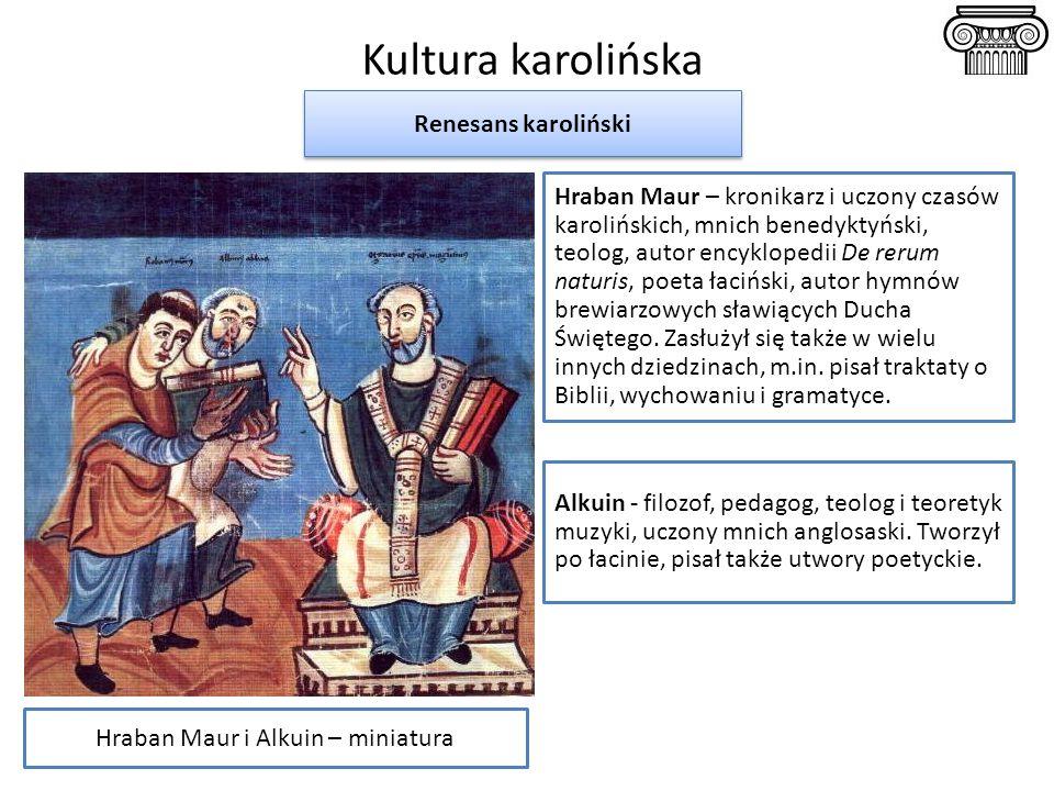 Hraban Maur i Alkuin – miniatura