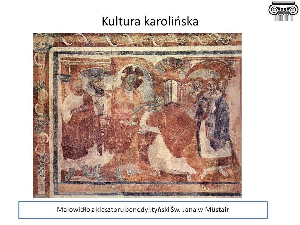 Malowidło z klasztoru benedyktyński Św. Jana w Müstair