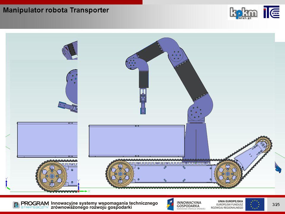 Manipulator robota Transporter