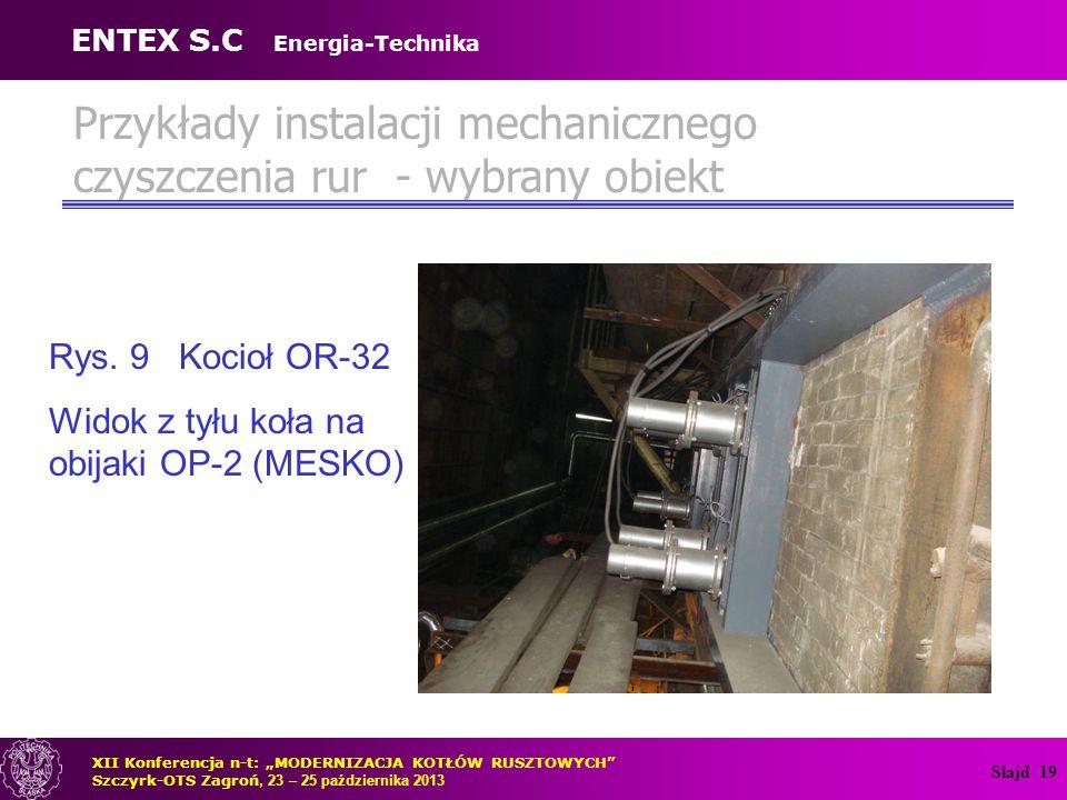 Przykłady instalacji mechanicznego czyszczenia rur - wybrany obiekt