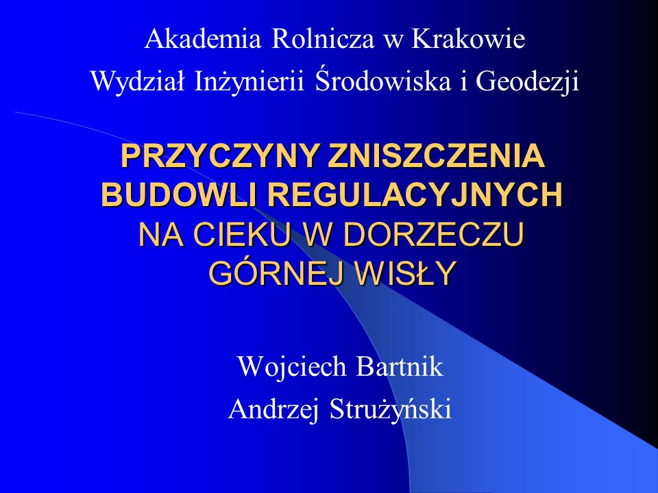 Wojciech Bartnik Andrzej Strużyński