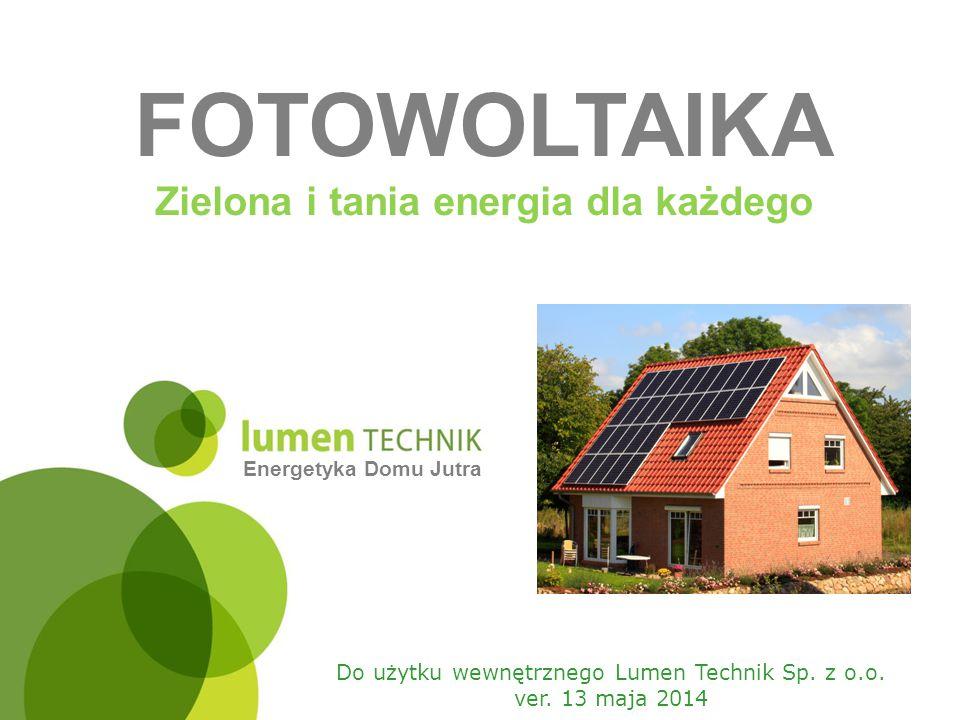 Zielona i tania energia dla każdego