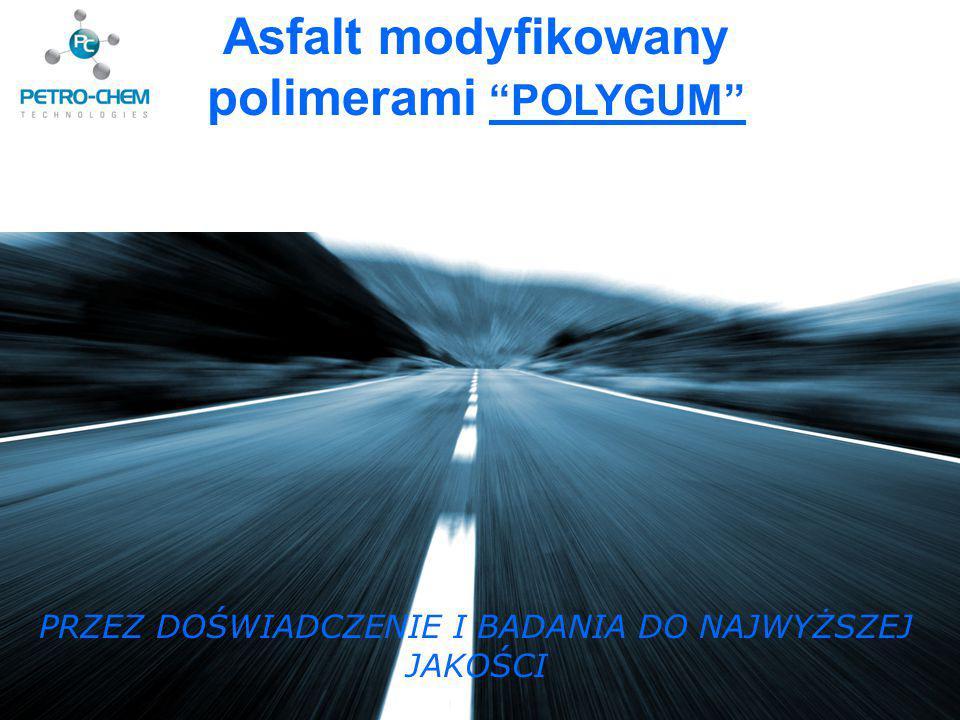 Asfalt modyfikowany polimerami POLYGUM