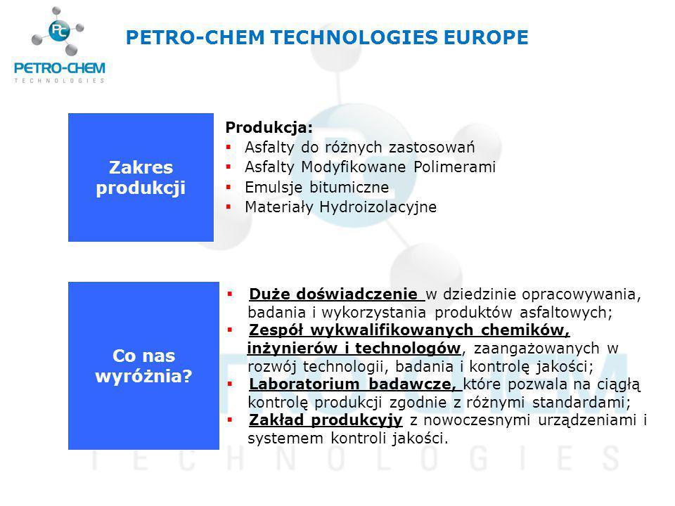 PETRO-CHEM TECHNOLOGIES EUROPE
